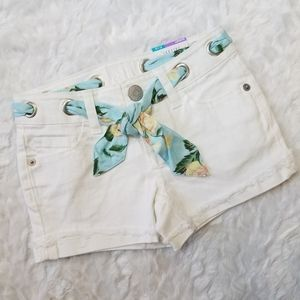 Justice White Shorts